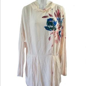 Free People Gemma Tunic Mini Dress Sz L